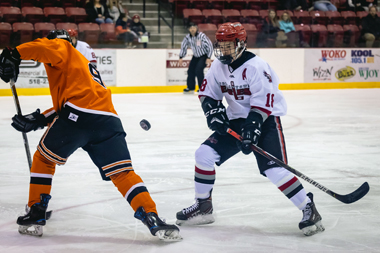 battle for puck